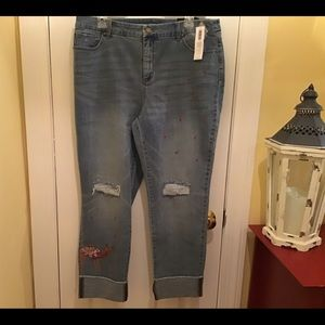 Chico's ankle jeans